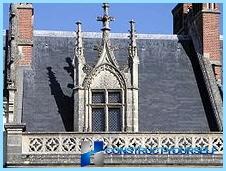 Mansardos stogo langai