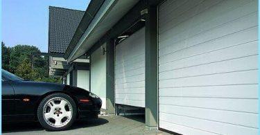 Segmentiniai garažo vartai lift