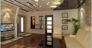 Lubų dizainas gyvenamasis kambarys
