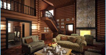 interjero dizainas Country House su savo rankas