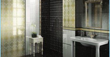 Rusijos plytelės vonios kambaryje