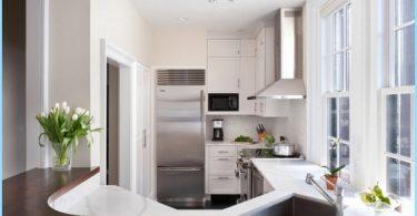 maža virtuvė interjero dizainas
