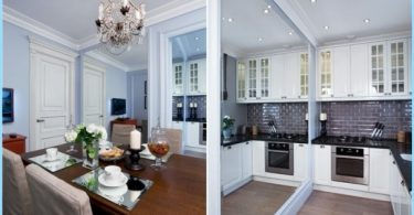 Virtuvės Studija 20, 18, 16 kv. m. - Stilingas modernus dizainas