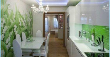 Nuotraukų sienos virtuvėje, plečiasi erdvė