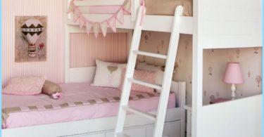 Vaiko kambarys dviems merginoms