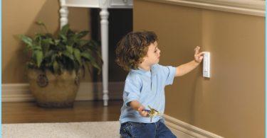 Tipinis elektros schema laidų namuose