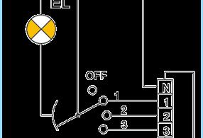 Kaip prijungti ventiliatorius per rele