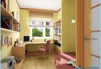 Moksleivio kambarys Modernus dizainas